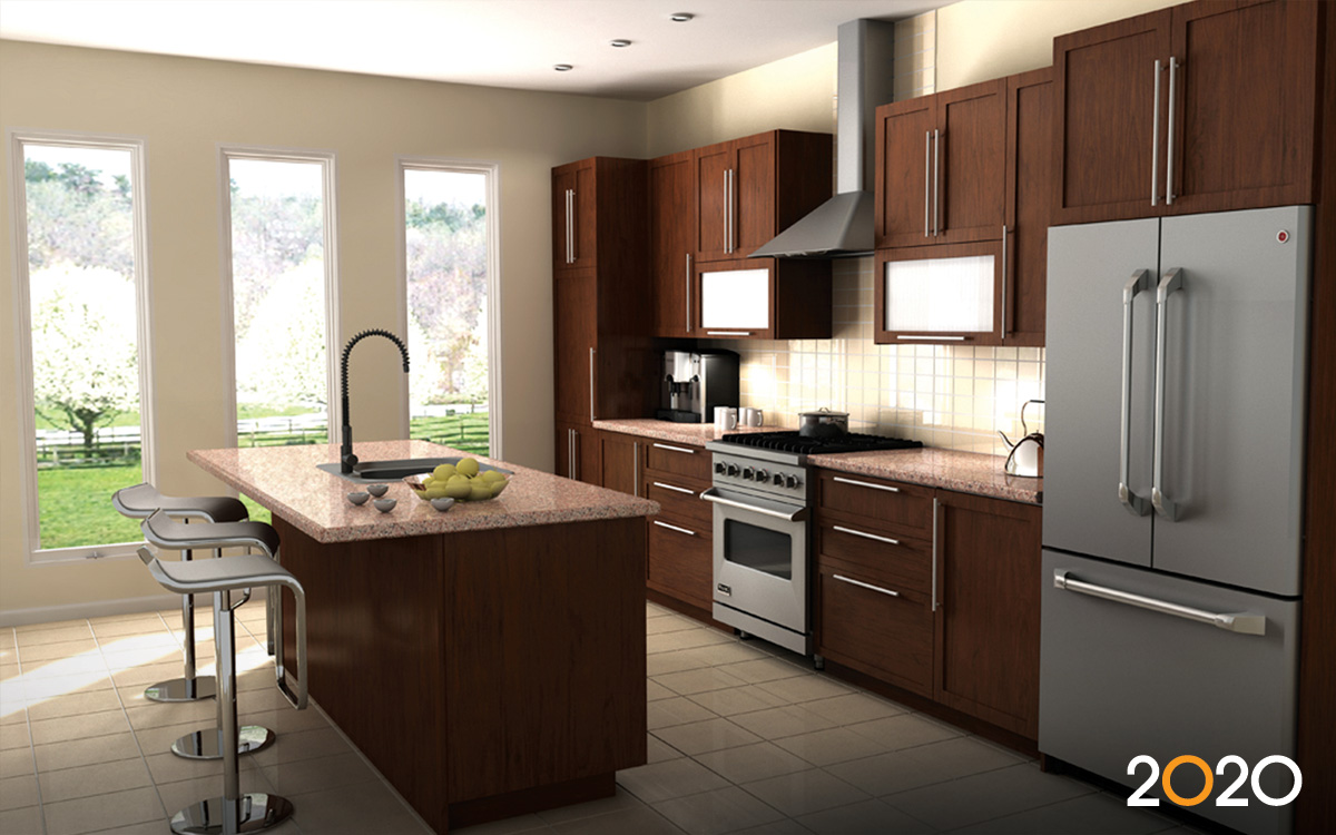 2020 design kitchen and bathroom design software Wood kitchen design gallery