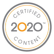 2020 Certified Content