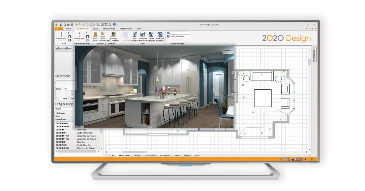 2020 Design Live Kitchen And Bathroom Design Software