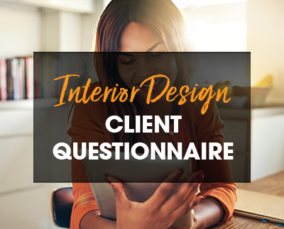 Interior Design Client Questionnaire For Initial Consultation